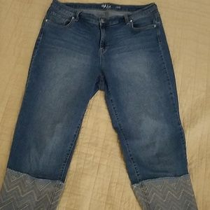 Style and Co. Capri Jeans
